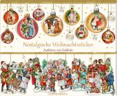 Stickerbuch - Nostalgische Weihnachtssticker