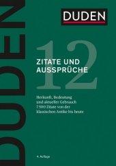 Duden - Zitate und Aussprüche Cover