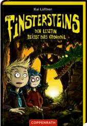 Die Finstersteins - Den Letzten beißt das Krokodil Cover
