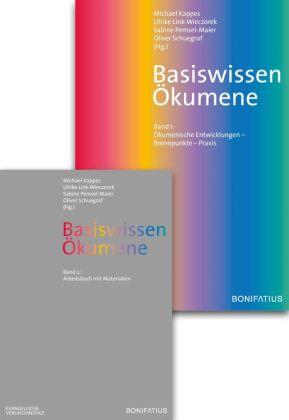 Basiswissen Ökumene, Ökumenische Entwicklungen - Brennpunkte - Praxis / Arbeitsbuch mit Materialien, 2 Bde. m. CD-ROM