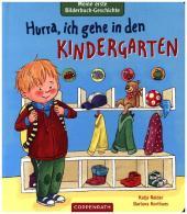 Meine erste Bilderbuch-Geschichte - Hurra, ich gehe in den Kindergarten Cover