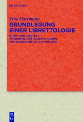 Grundlegung einer Librettologie