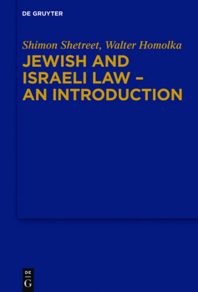 Jewish and Israeli Law - An Introduction