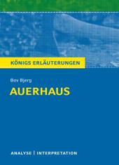 Bov Bjerg 'Auerhaus' Cover