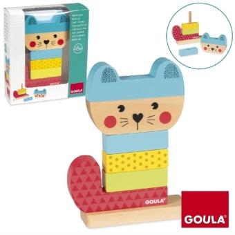 Stapel-Spiel Katze