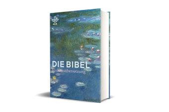 Die Bibel, Einheitsübersetzung, Umschlagmotiv Seerosen (Monet), Großdruck