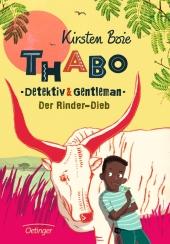 Thabo, Detektiv & Gentleman - Der Rinder-Dieb Cover