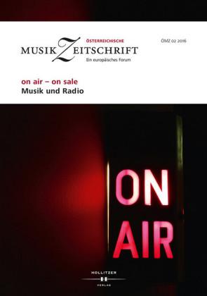 on air - on sale. Musik und Radio