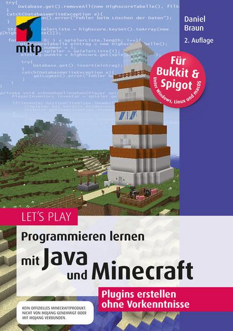 Lets Play Programmieren Lernen Mit Java Und Minecraft EBook - Minecraft server erstellen ohne geld