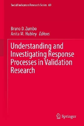 Understanding and Investigating Response Processes in Validation Research