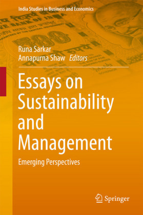 Essays on Sustainability and Management