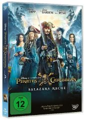 Pirates of the Caribbean: Salazars Rache, 1 DVD Cover