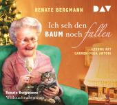 Ich seh den Baum noch fallen. Renate Bergmanns Weihnachtsabenteuer, 1 Audio-CD Cover