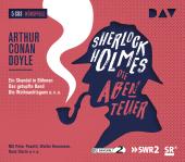 Sherlock Holmes - Die Abenteuer, 6 Audio-CDs Cover