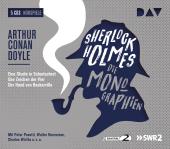 Sherlock Holmes - Die Monographien, 5 Audio-CDs Cover