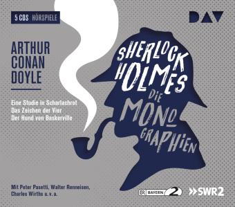Sherlock Holmes - Die Monographien, 5 Audio-CDs