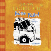 Gregs Tagebuch - Böse Falle!, Audio-CD Cover