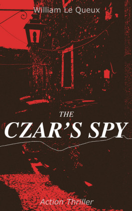 THE CZAR'S SPY (Action Thriller)
