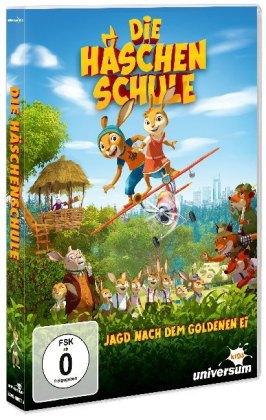 Die Häschenschule - Jagd nach dem goldenen Ei, 1 DVD