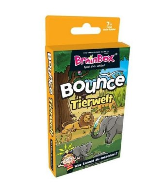 BrainBox Bounce - Tiere (Kinderspiel)