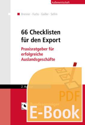 66 Checklisten für den Export (E-Book)