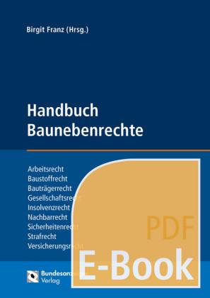 Handbuch Baunebenrechte (E-Book)