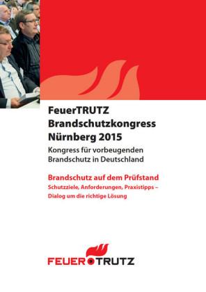 Tagungsband FeuerTRUTZ Brandschutzkongress 2015 - E-Book (PDF)