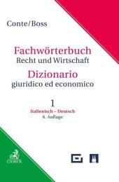 Wörterbuch Recht & Wirtschaft, Italienisch-Deutsch