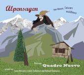 Alpensagen - von Hexen, Geistern und Rittern, 1 Audio-CD