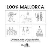 100 % Mallorca - Ausmalbuch Cover