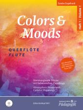 Colors and Moods, für Querflöte , m. Audio-CD