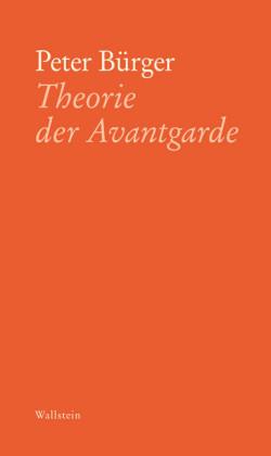 Theorie der Avantgarde