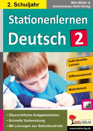 Stationenlernen Deutsch / Klasse 2