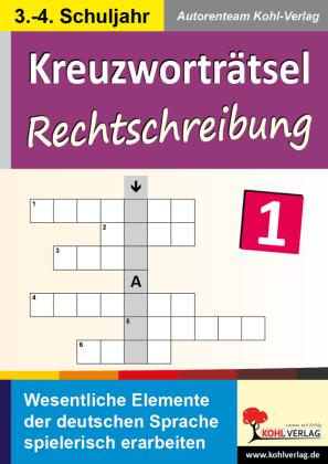 Kreuzworträtsel Rechtschreibung