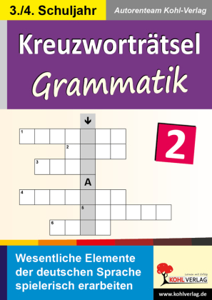 Kreuzworträtsel Grammatik