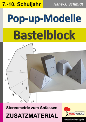 Pop-up-Modelle / Bastelblock