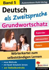Deutsch als Zweitsprache - Grundwortschatz 5