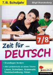 Zeit für Deutsch / Klasse 7-8