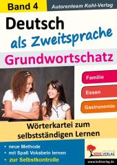 Deutsch als Zweitsprache - Grundwortschatz 4