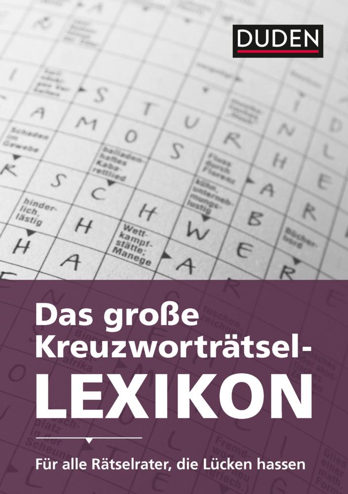 Duden Das Große Kreuzworträtsel Lexikon Ebook Hofer Life