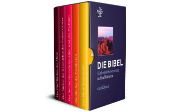 Die Bibel. Einheitsübersetzung, 5 Bde.