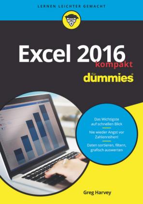 Excel 2016 für Dummies kompakt,
