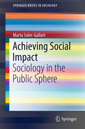 Achieving Social Impact