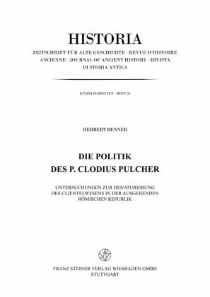 Die Politik des P. Clodius Pulcher