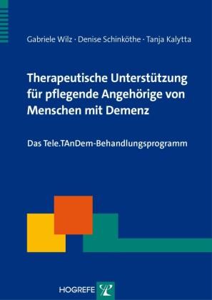 Therapeutische Unterstützung für pflegende Angehörige von Menschen mit Demenz