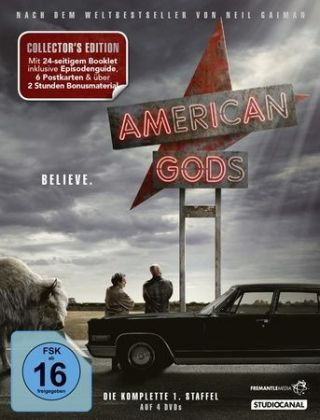 American Gods, 4 DVDs (Collector's Edition)
