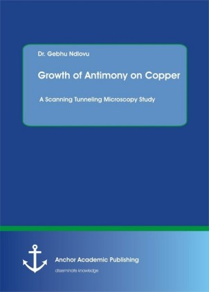 Growth of Antimony on Copper. A Scanning Tunneling Microscopy Study