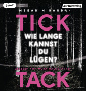 TICK TACK - Wie lange kannst du lügen?, 1 MP3-CD Cover
