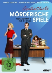 Agatha Christie - Mörderische Spiele Collection, 2 DVD Cover