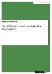 'Der Kübelreiter' von Franz Kafka. Eine kurze Analyse
